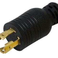 L14 30 Diameter 4 Way Round Trailer Connector Wiring Diagram Conntek Pl1430650 Nema 30p To 6 50r Pigtail Adapter