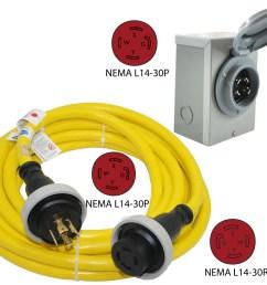 nema l14 30p to nema l14 30r power cord nema l14 30 [ 1500 x 1234 Pixel ]