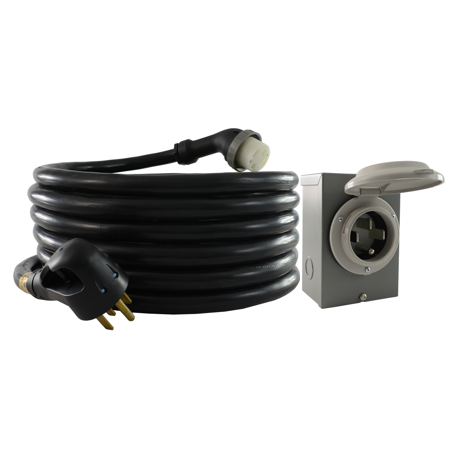 hight resolution of 14 50 cord and inlet box combo
