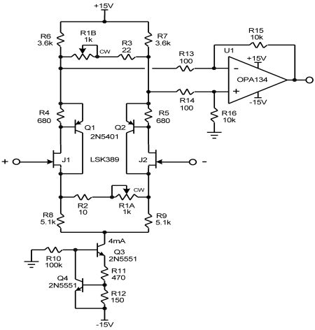 Servo Amplifier Schematic Best 100 Watt Mosfet Amplifier