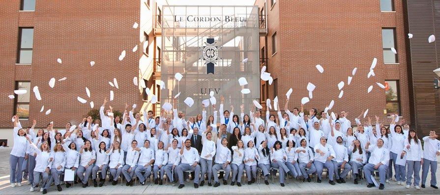 Third Graduation of Le Cordon Bleu MadridN BLEU MADRID