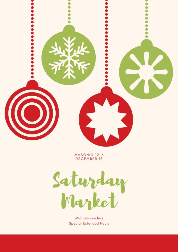 December Saturday Market