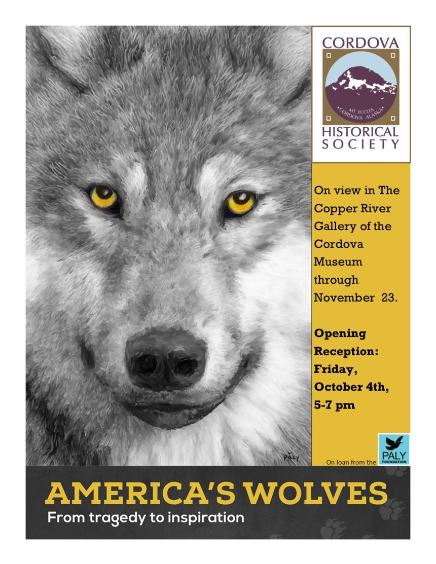 """Wolves"" Art Exhibit Opening"