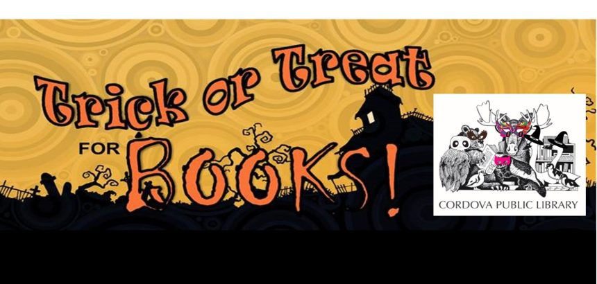 Trick or Treat for Books