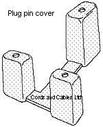 UK plugs, 3A UK plugs, 3 square pin UK plugs, transparent