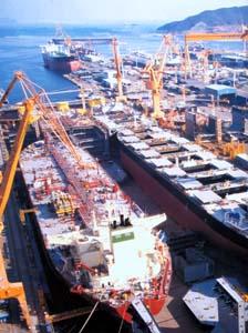 Corea  Cantieri navali