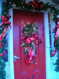 Christmas Door Decorations | Casual Cottage