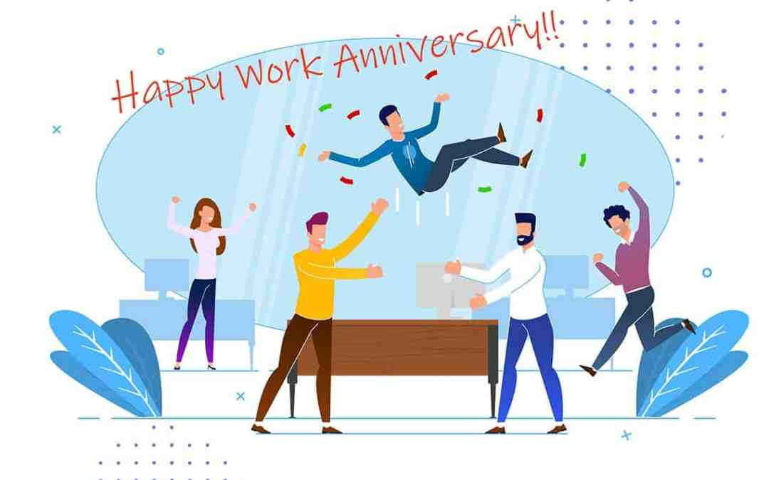 Employee Appreciation and Anniversary Messages for Years of Service Awards