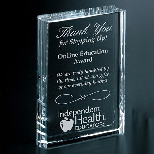 Online Education Award Example Image
