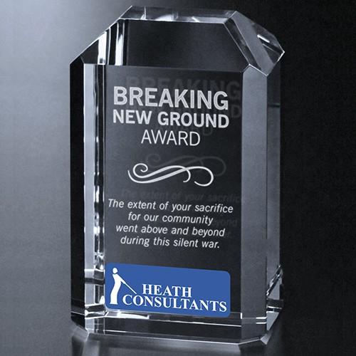 Breaking New Ground Award Example Image
