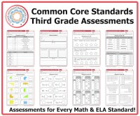 Third Grade Common Core Assessment Workbook Download