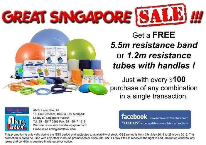 Sanctband Great Singapore Sale 2013