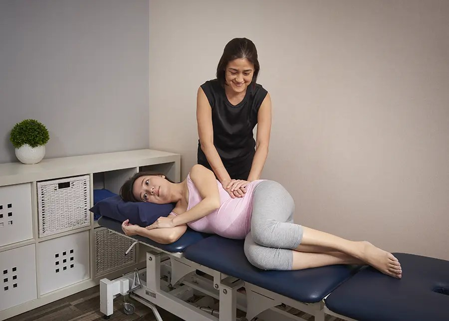 physiotherapy posterior pelvic pain