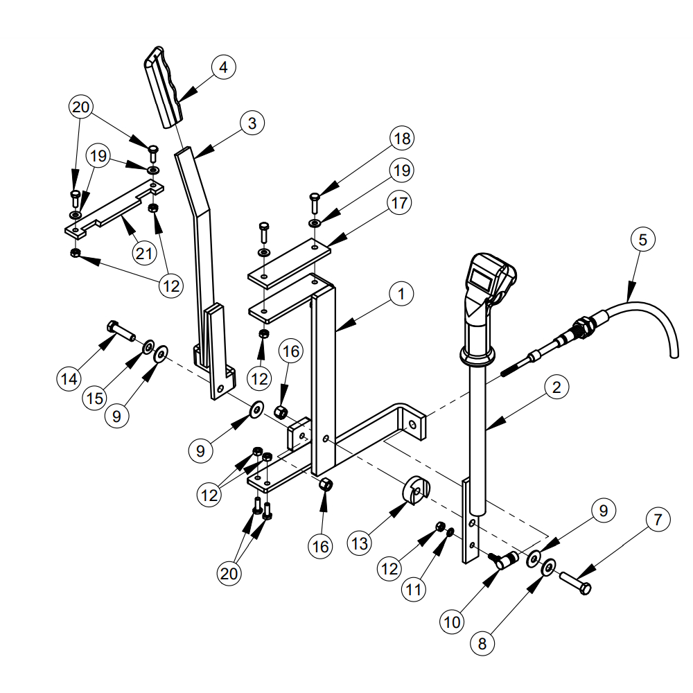 CG-1 Diamond Products Core Cut Walk Behind Grinders Parts