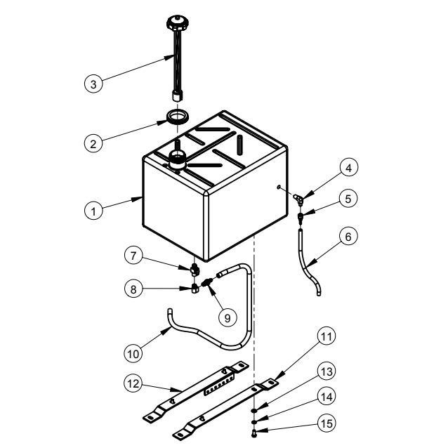 CC6160D Diamond Products Core Cut Walk Behind Saws Parts