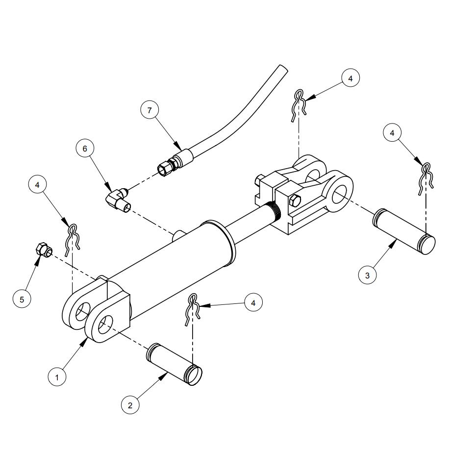 CC3500J Diamond Products Core Cut Walk Behind Saws Parts