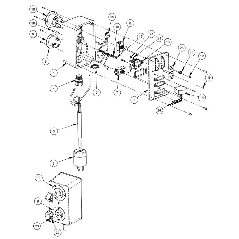 M-5PRO Diamond Products Core Bore Drill Rigs Parts