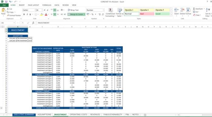 CFAM_Investment Cost