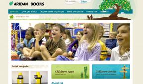 Aridan Books website
