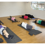 Pilates class on mats in Wishart