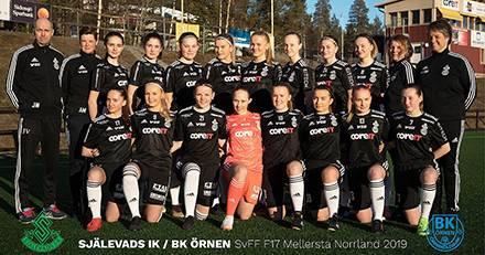 Fotbollssatsning för Själevads IK/BK Örnen i riksserien F17
