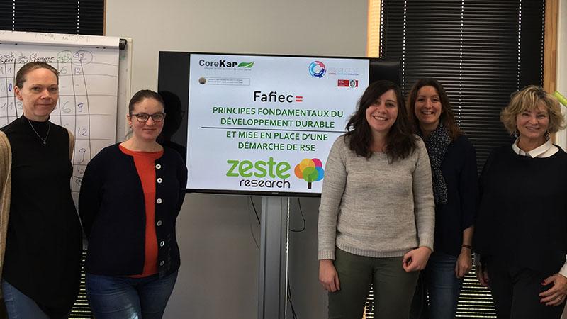 CoreKap -Formation RSE à Lille chez Zeste Research