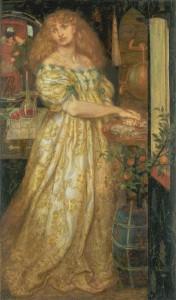 Lucrezia Borgia 1860-1 by Dante Gabriel Rossetti 1828-1882