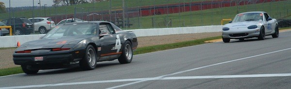 1986 Pontiac Firebird in the American Sedan class