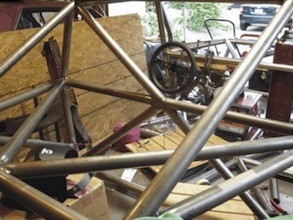 AMX chassis cockpit