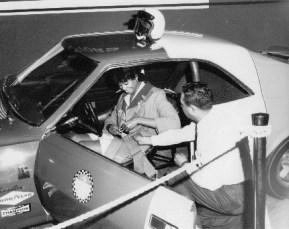 Tom Best, III, showing Javelin Trans-Am 1967