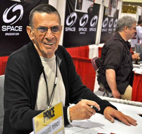Leonard Nimoy at Fan Expo