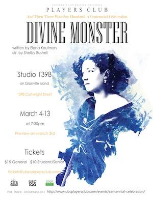 'Divine Monster' poster