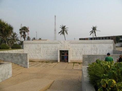 Kwame Nkrumah Mausoleum and Memorial Park building