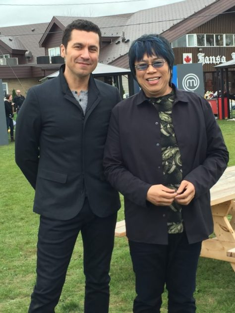 MasterFhef Canada judges Claudio Aprile and Alvin Leung. Photo: Cherryl Bird