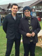 MasterChef Canada judges Claudio Aprile and Alvin Leung. Photo: Cherryl Bird