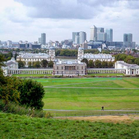 Greenwich Park, London. Photo by Romeo Crow