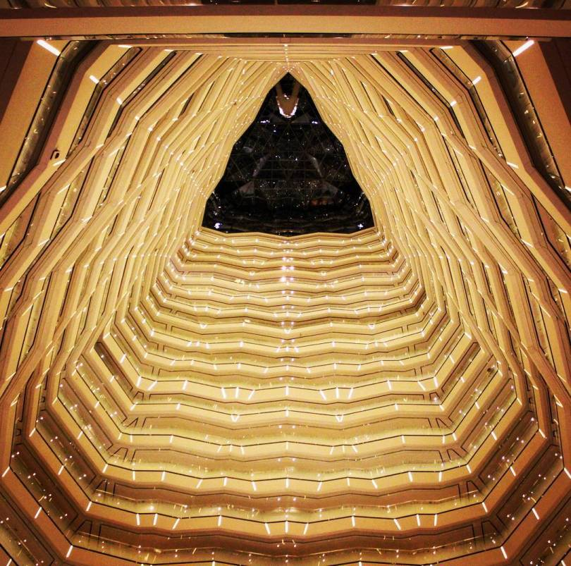 Guangzhou Tower Lobby. Photo: Romeo Crow