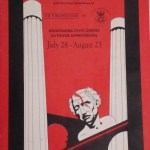 Poster of Jonathan Davies and Rob Costigan's production of Julius Caesar