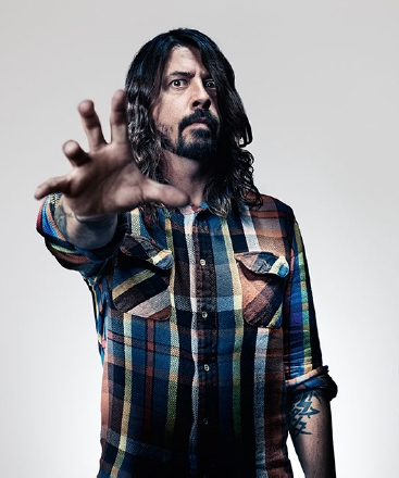 Dave Grohl, not even a broken leg can keep the Foo Fighter frontman off the stage. Photo:David Clerihew/Red Bulletin