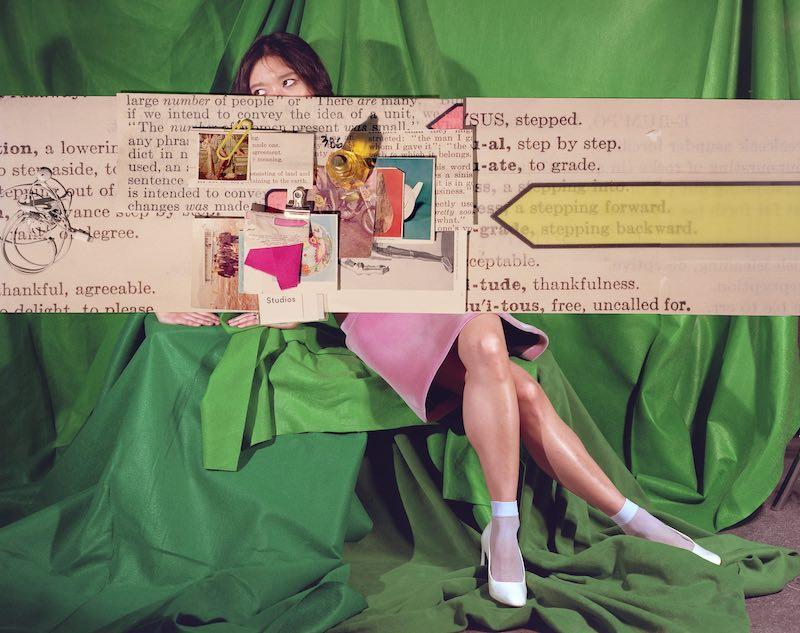 Foxy Production. Sara Cwynar Tracy, (Stepping Forward, Stepping Backward), 2017. Courtesy of the artist and the gallery