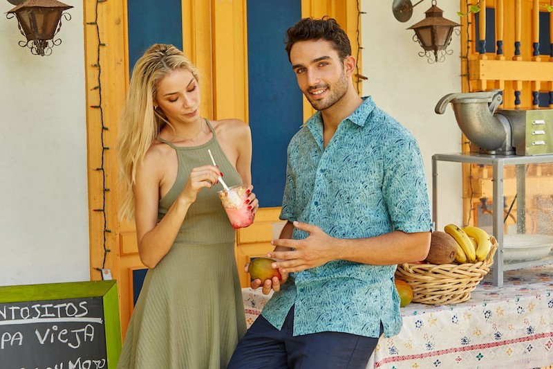 Perry Ellis International 50th anniversary Valentine's getaway to Miami, fashion makeover and shopping spree