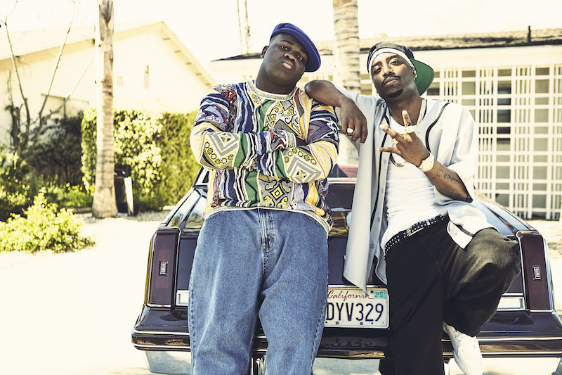 The actors who play Biggie, Tupac and the detectives who try to solve their murders