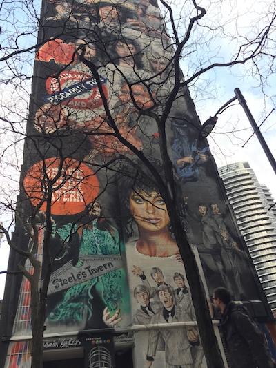 Yonge Mural. Photo: Cherryl Bird