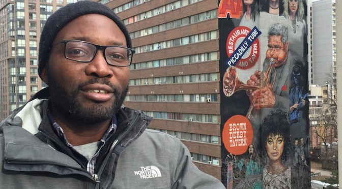 Yonge Mural painter gave up his career as a graphic artist to literally paint outside the box