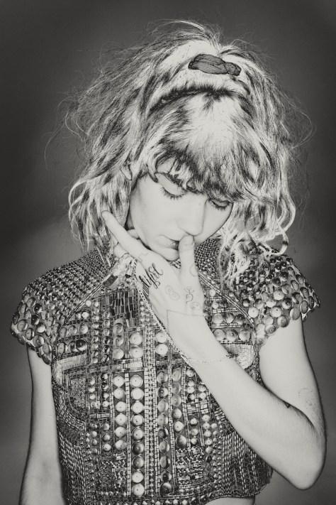 Musician Grimes from IPSEITY. Photo: Brendan Meadows