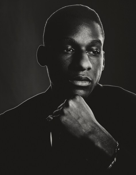 Musician Leon Bridges. Photo: Brendan Meadows
