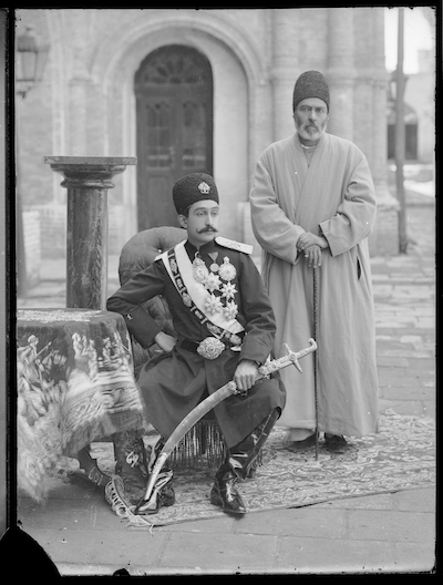 Portrait of Prince Abu'l Fath Mirza Salar al-Dawla (1881-1961)