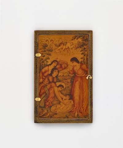 Mirror Case  Iran, ca. 1825-1850 Arthur M. Sackler Gallery, Smithsonian Institution