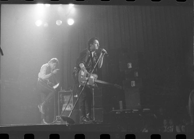The Clash on stage in Toronto, 1979