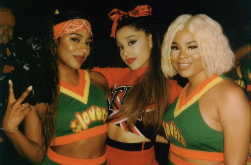 Ariana Grande 'Thank U, Next' music video. Screen shot: Victoria Monet's IG